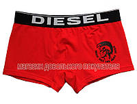 Мужские трусы боксёры Diesel красные