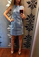 Женское платье джинсовое Горох оптом
