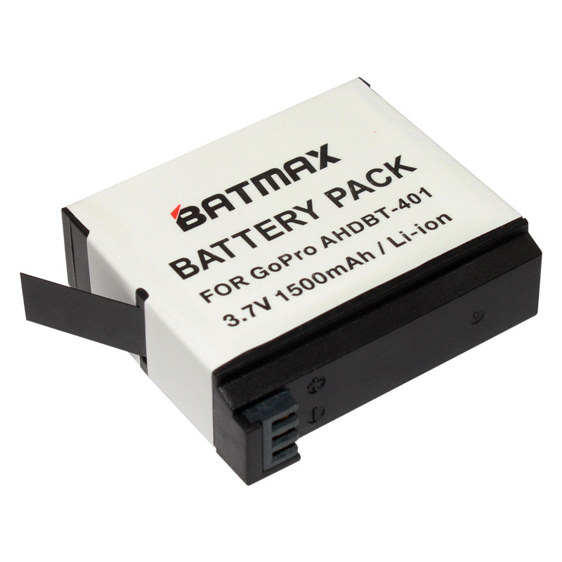 Аккумулятор BATMAX AHDBT-401 для экшн-камеры GoPro Hero 4