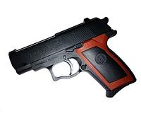 Пистолет с пульками ES2071-M809 в кульке (12 х 9 х 2 см) HN