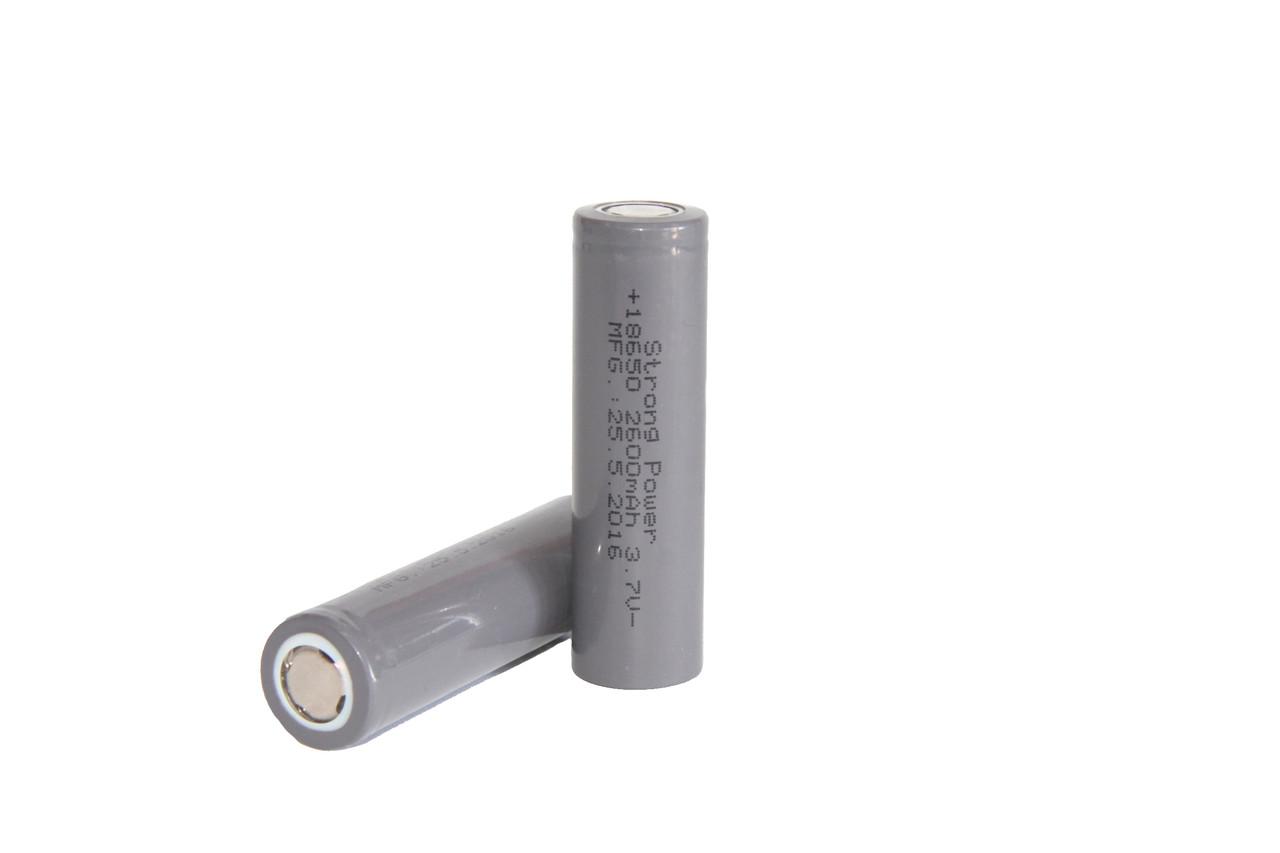 Батарейка 18650 Strong Power 2600mah Аккумулятор для электронных сигарет QualitiReplica