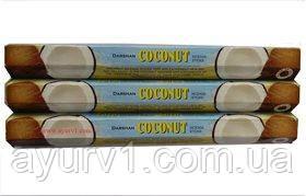 Аромапалочки/Благовония, Кокос / incense stick, Сoconaut / в пачке 20