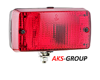 Противотуманный фонарь Wesem LA1.02004 красный СТОП 140х75х65