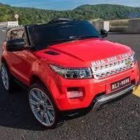 Детский электромобиль T-783 Джип, Range Rover, red, красный