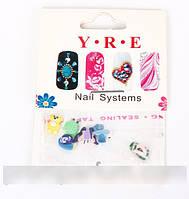 Акриловые фигурки для дизайна ногтей, магазин для наращивания ногтей в Харькове
