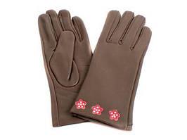 Перчатки женские кожаные ETERNO (ЭТЕРНО) E2512-Y