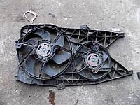 Вентилятор осн радиатора 2секц комплект D385 6 лопастей 2 пина /D280 7 лоп 2пина 2.5DCI rn Renault Trafic 2000