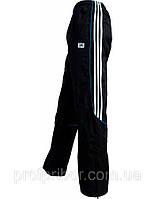 Мужские спортивные штаны Adidas из плащевки на х/б подкладке, мужская одежда копия