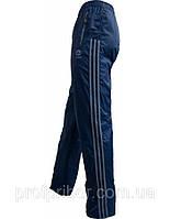 V-M-B-07 Спортивные штаны мужские Адидас из плащевки на х/б подкладке, Кривой Рог