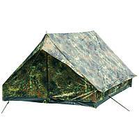 Двухместная палатка Mil-Tec Mini Pack Standard BW Camo