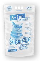 Наполнитель для туалетов Super cat (Супер кэт) стандарт 6+1 кг