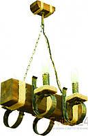Люстры и бра из натурального дерева в ассортименте www.svitlo24.com.ua