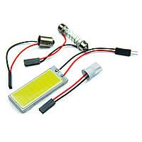 LED лампочка в салон, 12 В 3 Вт для подсветки
