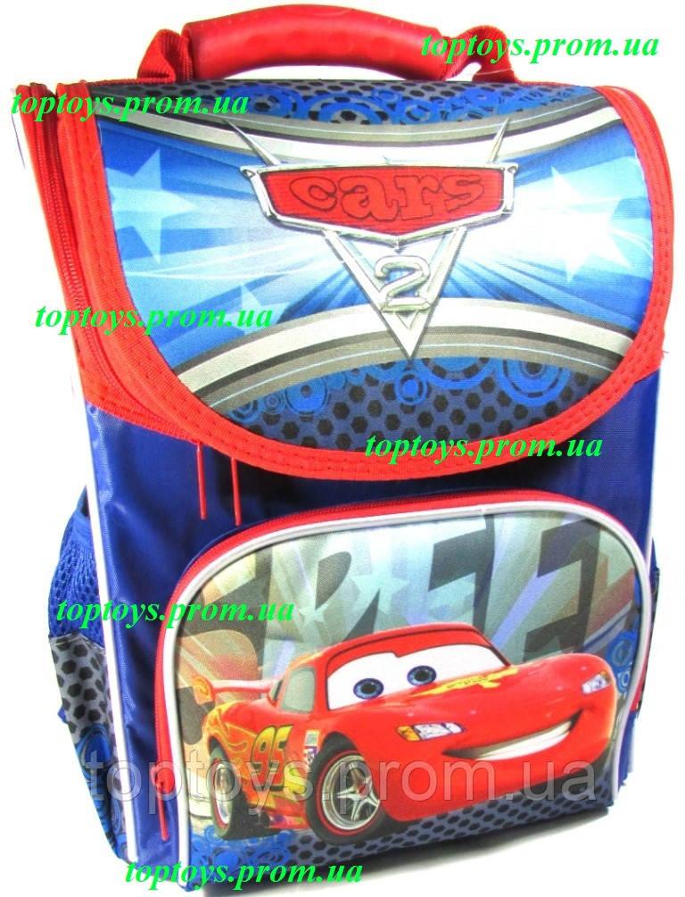 f93df24df877 Рюкзак каркасный ортопедический школьный для мальчика Тачки, Маккуин, Маквин,  фото 1