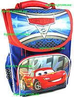 Рюкзак каркасный ортопедический школьный для мальчика Тачки, Маккуин, Маквин
