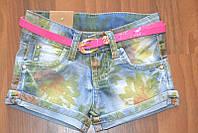 Джинсовые шортики для девочек,размеры 4-10.Польша, фото 1