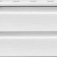 Сайдинг ROYAL Crest Корабельная доска (белый)