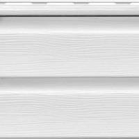 Сайдинг ROYAL Grandform Корабельная доска (белый)