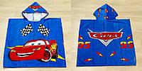 Детское пляжное пончо Cars