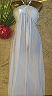 Платье в пол бюстье Лика 8258 белый 42-48р