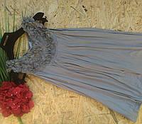 Блузка туника ВИКИ 13454 серый 42-48р
