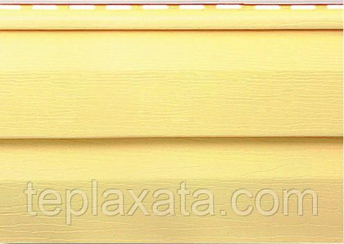 Сайдинг ROYAL Grandform Корабельна дошка (жовтий) 0,777 м2