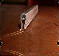 Профиль алюминиевый усиленный пешка