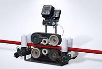 Измеритель длины кабеля МЕТРАЖ 100-СВ с роликовой клетью с самосводящимися откидными роликами