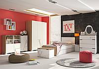 Комплект молодежной мебели TXT, Meblik (Польша)