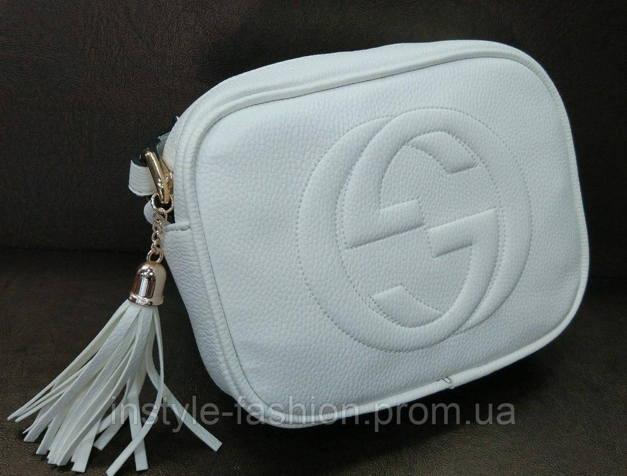 a7c14e66989c Сумка Gucci Гуччи через плечо белая: купить недорого копия продажа ...