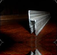 Профиль алюминиевый стандарт h-образный