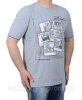 Летняя мужская футболка из 100% хлопка