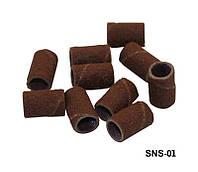 Наждачки для насадок 100 колпачков, насадки для фрезера YRE SNS-01, наждачки для аппаратного маникюра