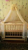 Балдахин для кроватки Золушка