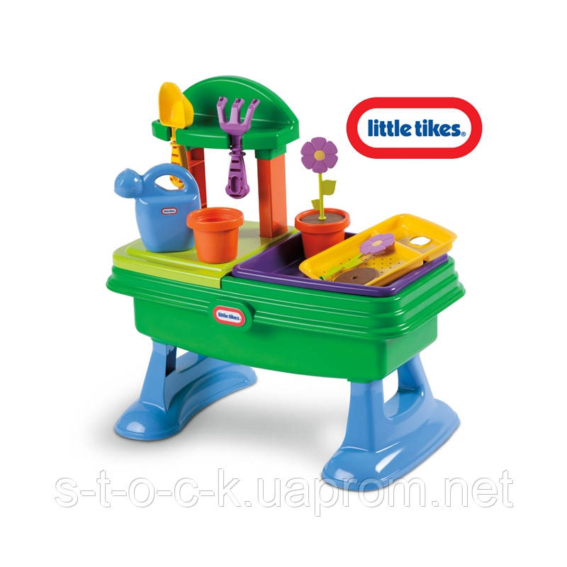 """Little Tikes 630453 Литл Тайкс Игровой стол-песочница """"Юный садовод"""""""