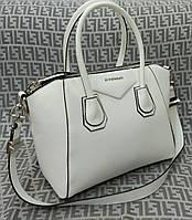 Сумка Givenchy Дживанши мини качественная эко-кожа белая