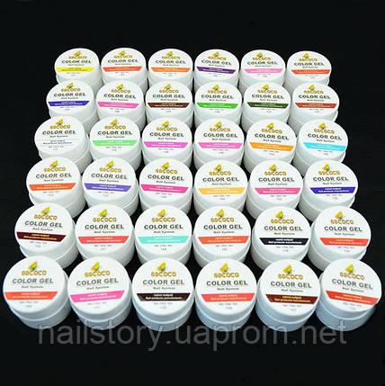 Цветные гели GDCoco 36 шт., фото 2