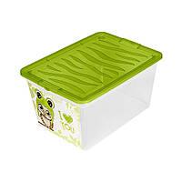 Ящик Owlet для игрушек на 15 литров серия Z-Box