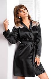 Шелковый халат IRALL