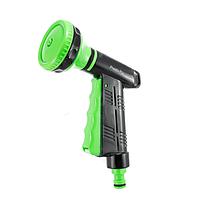 Пистолет распылитель для воды 4443, упаковка 10 шт., 4 режима, ручка с функцией включения воды