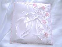 Свадебная подушечка для колец (П5)