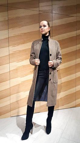 Пальто твидовое прямого кроя , фото 2