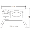 Декоративная печь 'Прованс' EK-5020, фото 3