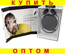 Наушники вакуумные AT-BT36 Sports Bluetooth ЧЕРНЫЕ
