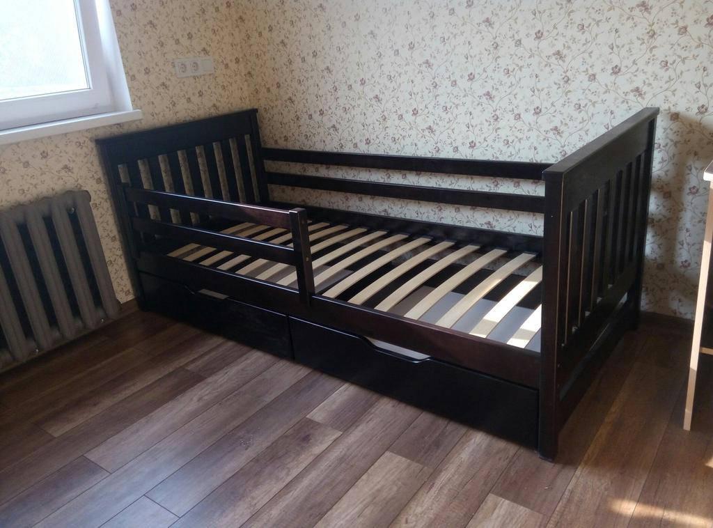 """Кровать подростковая """"Адель"""" 80*160 цвет Венге"""