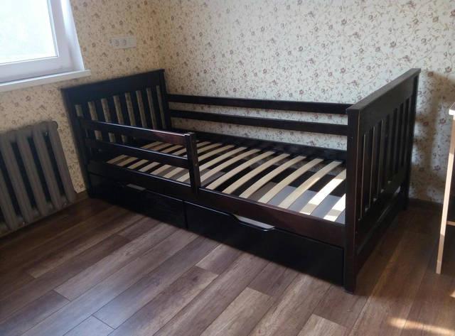"""Кровать подростковая """"Адель"""" 80*160 цвет Венге  -1"""