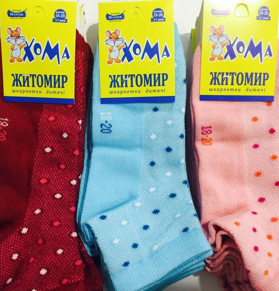 Носки детские летние девочка «Хома» размер 18-20 (5-7 лет)