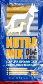 Nutra Mix Dog Maintenance сухой корм для собак со средней активностью, 3 кг