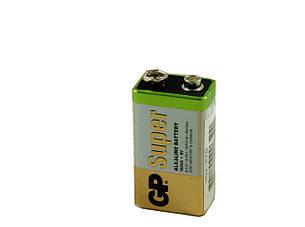 Батарейка GP Super Alkaline 9V (крона)1604A, фото 2