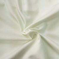 Сатин однотонный кремовый (мягкий белый), ширина 240 см, фото 1
